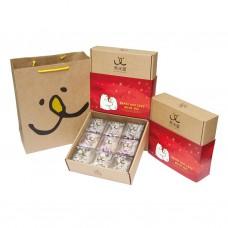 【熊米屋】溫馨禮盒(牛軋糖綜合口味)(9包裝/盒)