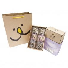 【熊米屋】甜蜜禮盒(牛軋糖綜合口味)(6包裝/盒)