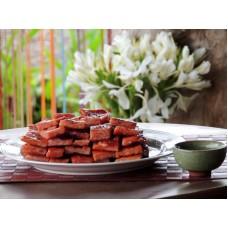 【黑竹堡】辣味厚片豬肉乾(150g)-採預購 (真空包裝)