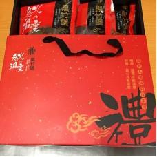 【黑竹堡】厚片豬肉乾禮盒(原/辣任選三)-採預購限量(真空包裝)